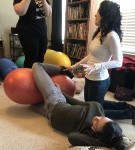 Peanut Ball training for doulas, nurses, midwives | Heidi Duncan, Authorized Peanut Ball Trainer
