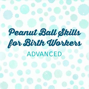Peanut Ball Skills for Birth Workers: Essentials and Advanced | Heidi Duncan, Authorized Peanut Ball Trainer